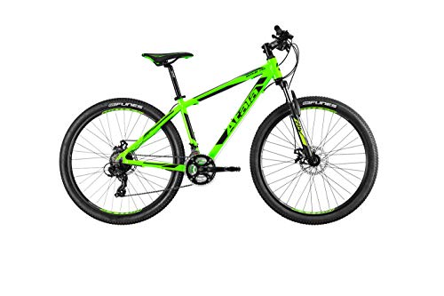 Atala Mountain Bike Nuovo Modello 2020 Replay STEF 21V MD Verde Neon - Nero S 16' (155-170 cm)