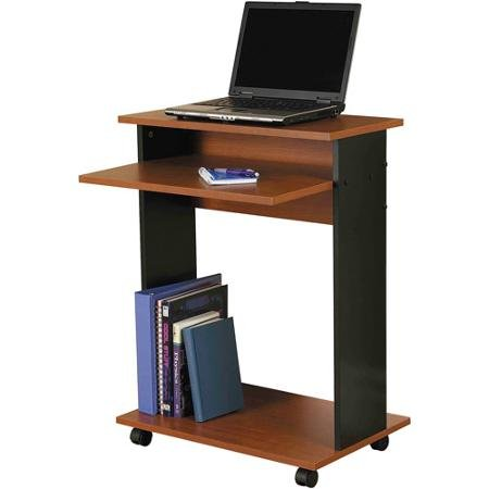 Orion Furniture Computer Cart, Cherry and Black