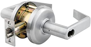 Stanley Best SPSLMLON16F630LH Patient Safety Mortise Lever Stainless Steel Passage Function Satin