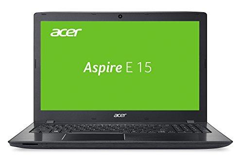 Acer Aspire E 15 (E5-575-58Z2) 39,6 cm (15,6 Zoll Full HD) Laptop (Intel Core i5-6267U, 8GB RAM, 1000GB HDD, 256GB SSD, Intel Iris 550, DVD, Win 10 Home) schwarz
