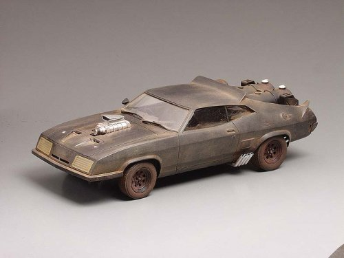 Mad Max The Road Warrior 1:24 Scale Model Kit By Interceptor
