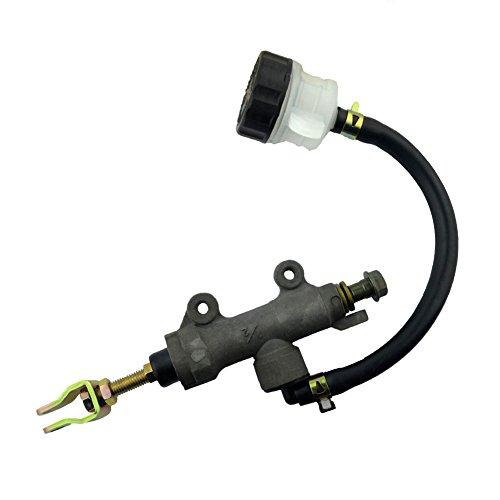 AHL Cilindro maestro Bomba de freno trasero Hidráulico para CBR250 VT250 CB400 VTEC I II III CBR400 VFR400 CB-1 Modificar refit universal