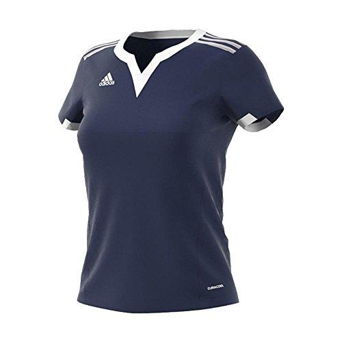 adidas Tiro 15 - Camiseta para Mujer - S22411, XS, Azul Oscuro