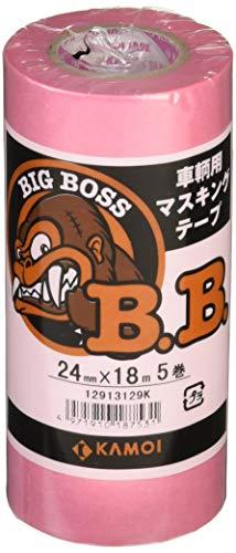 カモ井 マスキングテープ車両塗装用 BIGBOSSJAN24