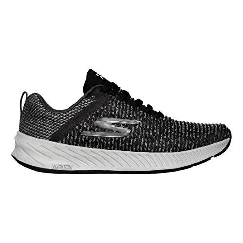Skechers Womens Go Run Forza 3 Black/White 8.5 B - Medium
