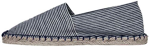 Japanwelt Espadrilles Classic Stripes Canvas Damen und Herren Sommerlatschen Streifen Muster viele Farben Größe 42
