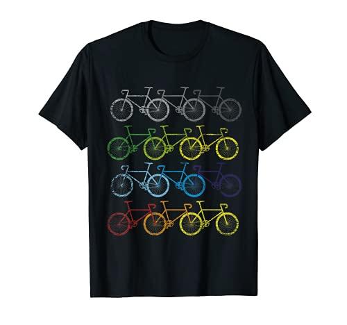 Fahrräder Geschenk Radfahrer Fahrradfahrer Fahrrad T-Shirt