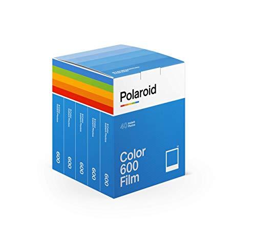 Polaroid - 6013 - Pellicola istantanea Colore per 600 e i-Type - 5 confezioni - 40 foto