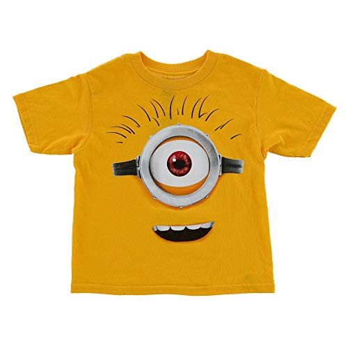 Universal Toddler Unisex T Shirt Despicable Me Minions Tee Shirt - Yellow - 4T