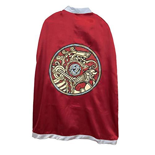 Liontouch 50003LT Capa de Juguete vikinga para niños | Forma Parte de la línea de Disfraces para niños
