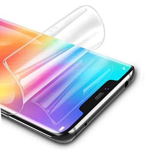 Pellicola in idrogel Protettiva per Huawei Honor 8X /Honor View 10 Lite, 2 Pezzi Trasparente Morbido TPU Protezioni per Lo Schermo [Copertura Completa] (Non Vetro Temperato)