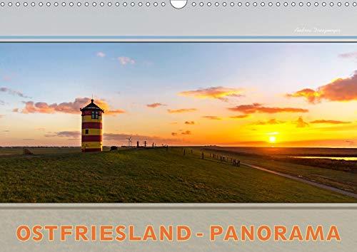 Ostfriesland-Panorama (Wandkalender 2020 DIN A3 quer): Entdecken sie die endlose Weite und das flache Land (Monatskalender, 14 Seiten ) (CALVENDO Natur)