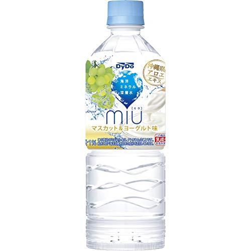 ダイドードリンコ ミウ マスカット&ヨーグルト味 550ml 1箱 24本