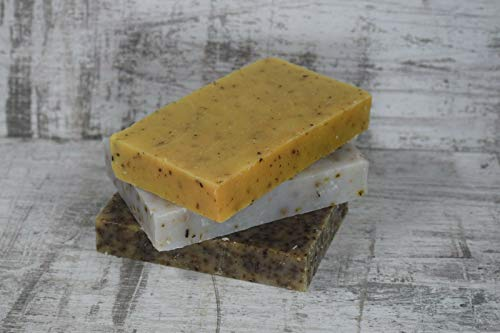 Handmade herbal soap pack of 3 Natural soaps cruelty free Traditional 3 x 120g
