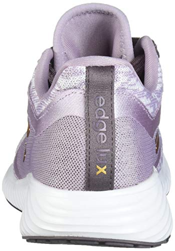 adidas Women's Edge Lux 3 Running Shoe, Soft Vision/Copper met./ Vision Shade, 8.5 Standard US Width US 4