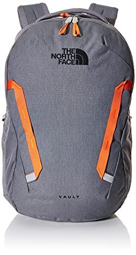 The North Face Vault, Zinc Grey Dark Heather/Persian Orange, OS