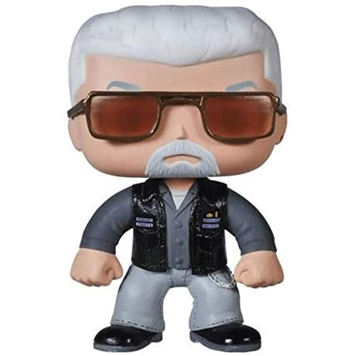 Funko Pop Television : Sons of Anarchy - Clay Morrow 3.75inch Vinyl Gift for TV Fans SuperCollection