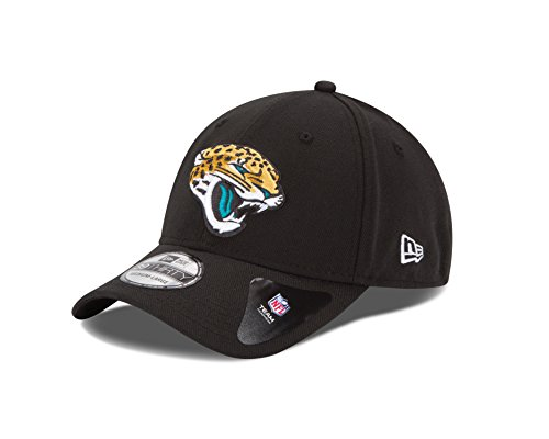 NFL Jacksonville Jaguars Team Classic 39THIRTY Stretch Fit Cap, Large/X-Large, Black