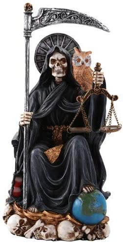 Super sale period limited San Jose Mall Pacific Giftware Santa Muerte Saint Religio Death of Holy Seated