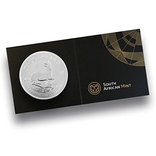 Krügerrand 1 Unze Silbermünze 2017 - NEU Krügerrand in Silber - einzeln in Kapsel mit Zertifikat