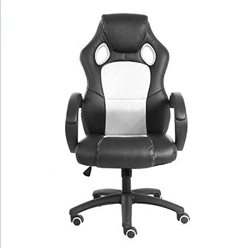 DKee. Kaufen Essentials-Kollektion Racing Stil Gaming Chair (weiß)