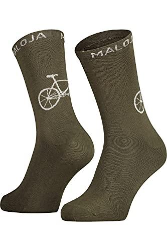 Maloja Stalkm. Socken Grün, Socken, Größe EU 39-42 - Farbe Moss