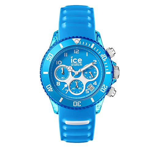Ice-Watch - ICE aqua Malibu - Men's wristwatch with silicon strap - Chrono - 001461 (Medium)