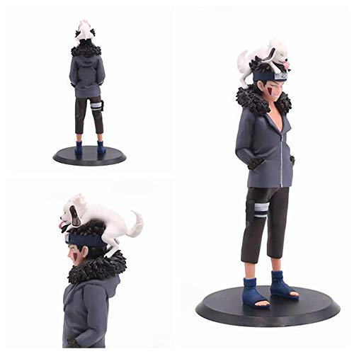 Homejuan Action Figure Naruto Inuzuka Kiba Animated Character Model Collectible Toys