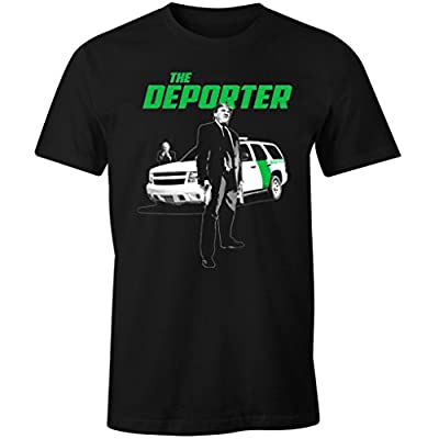 Fantastic Tees Trump The Deporter Funny Transporter Spoof Immigration Men's T Shirt