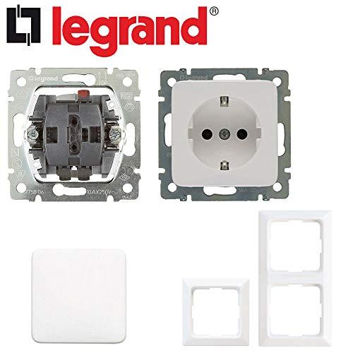 Legrand Creo Schalter und Steckdosen Paket für Eigenheime und Wohnungen