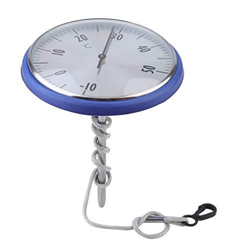 Hohe Präzision Edelstahl Sonde Professionelle Schwimmbad Teich Zifferblatt Thermometer Temperatur Meter Anzeige