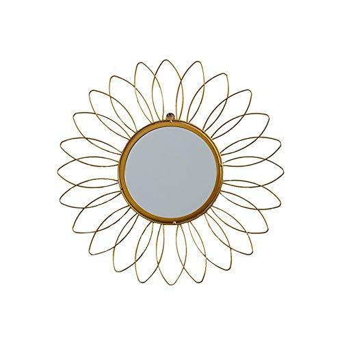 Wandspiegel, Wandspiegel, Runder Geometrischer Sunburst-Spiegel Für Die Wanddekoration Im Wohnzimmer