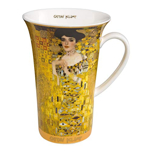 Goebel - Adele Tasse - Henkelbecher- Kaffeebecher - Gustav Klimt- Bone China Höhe 15 cm 0,5 l