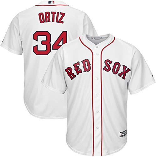 David Ortiz Boston Red Sox #34 Kids 4-7 White Cool Base Home Replica Jersey (7)