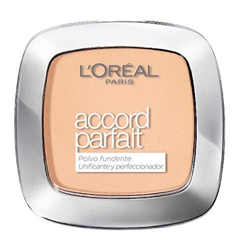 L Oréal Paris True Match, Polvos Matificantes Accord Parfait, Tono 4N Beige