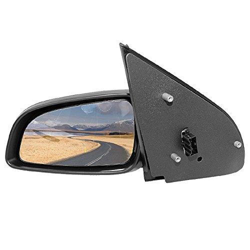 Außenspiegel Spiegel links asphärisch beheizbar schwarz für elektr.Spiegelverstellung
