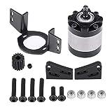 RC Car Gearbox & Motor Mount, RC Crawler Getriebe Getriebegehäuse mit Getriebemotorhalterung für D90 1/10 RC Crawler Car -