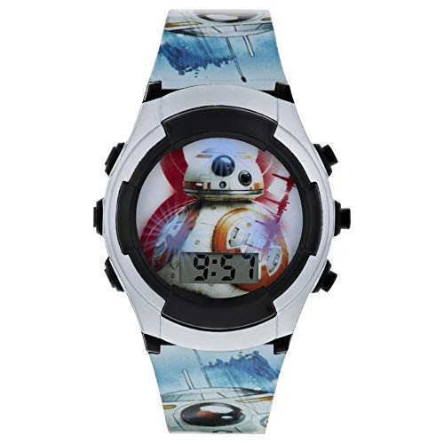 Star Wars Reloj Niños de Digital con Correa en PU SWJ4011