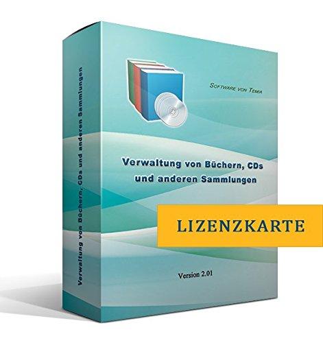 Verwaltung von Büchern, CDs und anderen Sammlungen [nur Lizenzschlüssel, ohne Datenträger]