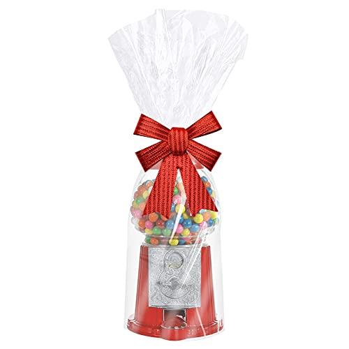 셀로판 가방 9X20 인치 투명 선물 가방 20PCS 셀로판 선물 가방