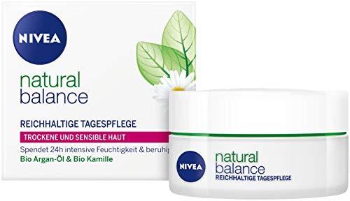 Nivea Natural Balance Reichhaltige Tagespflege, 1er Pack (1 x 50 ml)