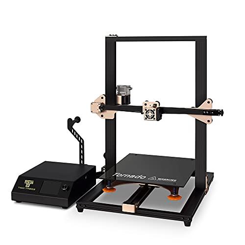 OUYZGIA Newest TEVO Tornado 3D Printer 95% Assembled 3D Printer 3D Printing-New Color&New Board