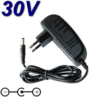TOP CHARGEUR * Adaptador Cargador 30V Reemplazo Aspiradora Escoba Bosch Athlet 25V 25.2V / BBH625 M1 / BBH625 W60 / BBH6256P1 / BCH6256N1 / BCH65PET / BCH65RT25 / BCH6L2561 / BCH6Z OOO / VCH6 x TRM