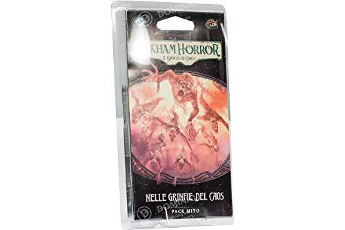 Asmodee Italia Arkham Horror LCG en Las Grinfias del Caos expansión Juego de Mesa, Color, 9633