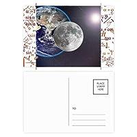 ブルーアースホワイト・プラネットの白色光 公式ポストカードセットサンクスカード郵送側20個