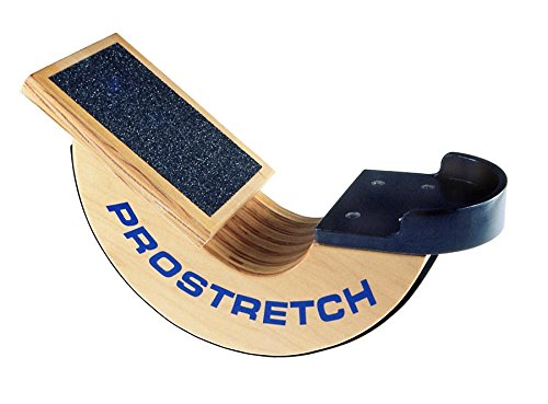 ProStretch Wooden Original, Made in USA, Calf Stretcher and Foot Rocker for Plantar Fasciitis, Achilles Tendonitis and Tight Calves