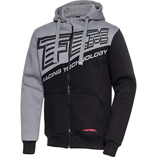 FLM Hoodie Sweatshirt Sweatjacke Kapuzenpullover Hoodie 4.0 grau/anthrazit L, Herren, Casual/Fashion, Ganzjährig