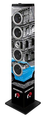 Torre DE Sonido INFINITON ST-62 Roma, Bluetooth, 60W, USB/SD