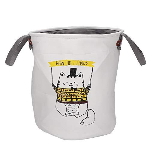 OKBY Cesta de Almacenamiento: Cesta de lavandería Plegable de Espesor, Caja de Almacenamiento de Juguetes, contenedores de Ropa, artículos Diversos, Organizador para el hogar(UNA)