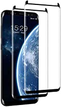 Galaxy Note 8 Screen Protector, (2Packs) [Easy Bubble-Free Installation] Tempered Glass Screen Protector 3D Curved/HD Clarity/Case Friendly for Samsung Galaxy Note 8